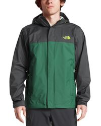 The North Face Venture 2 Hooded Jacket - Green