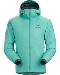 Arc'teryx Atom Lt Hooded Insulated Jacket - Green