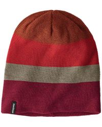 7237cdc612f Lyst - Patagonia Glade Beanie in Green for Men