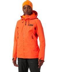 Helly Hansen Odin Mountain Infinity 3l Shell Jacket - Orange
