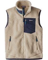 Patagonia Men's Classic Retro-x® Fleece Vest - Natural
