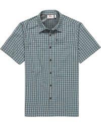 Fjallraven - Svante Seersucker Shirt - Lyst