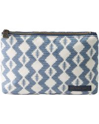 Pendleton Canopy Canvas Cosmetic Case - Blue
