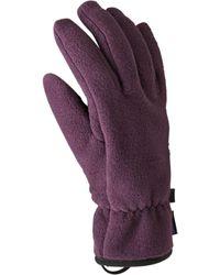 Patagonia Synchilla Glove - Purple