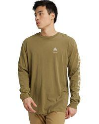 Burton Elite Organic Long-sleeve T-shirt - Green