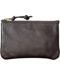 Filson Leather Pouch - Small - Brown