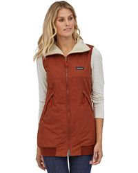 Patagonia Shelled Synchilla Reversible Vest - Red