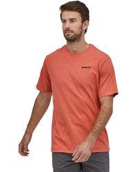 Patagonia P-6 Logo Short-sleeve Responsibili-t-shirt - Multicolor
