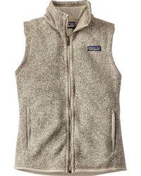 Patagonia - Better Sweater Fleece Vest - Lyst