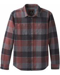 Prana - Brayden Flannel Shirt - Lyst