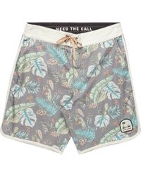 ca626f04b6 Howler Brothers Howler Bros Chandler Old School Boardshort in Red for Men -  Lyst