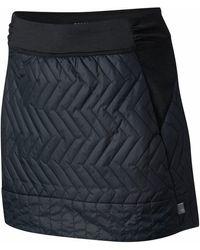 Mountain Hardwear Trekkin Insulated Mini Skirt - Black
