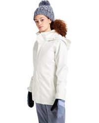 Burton Jet Set Jacket - White