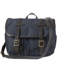 Filson - Medium Rugged Twill Field Bag - Navy - Lyst