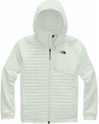 The North Face Thermoball Flash Hooded Jacket - Gray