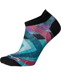 Smartwool Performance Cycle Ultra Light Print Micro Sock - Multicolor