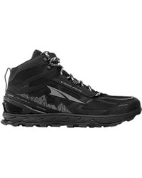 Altra Lone Peak 4.0 Mid Mesh Trail Running Shoe - Black