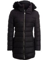 Add - Duck Down Wool Hooded Coat - Lyst