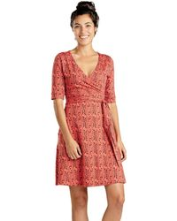 617b45b3aa The Fifth Label Cue The Beats Long Sleeve Dress in Red - Lyst