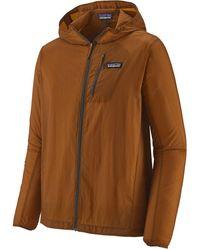 Patagonia Houdini Full-zip Jacket - Brown