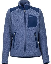 Marmot Wiley Polartec(r) Fleece Jacket - Blue