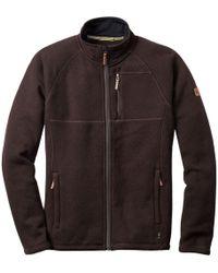 Smartwool Echo Lake Full-zip Sweater - Brown