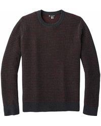 Smartwool - Ripple Ridge Tick Stitch Crew Sweater - Lyst