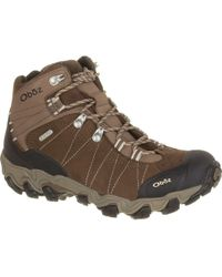 Obōz Bridger Mid B-dry Hiking Boot - Brown