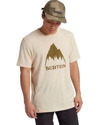 Burton Classic Mountain High T-shirt - Natural