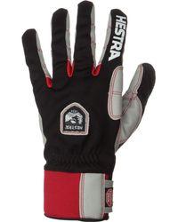 Hestra Ergo Grip Windstopper Race Glove - Black