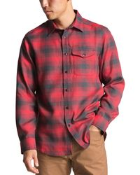 65b88c858 The North Face Short Sleeve Shadow Gingham Shirt in Green for Men - Lyst