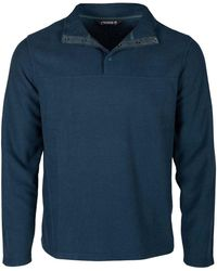 Mountain Khakis Apex Pop Top Classic Fit Pullover - Blue