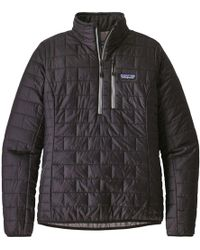 Patagonia - Nano Puff Pullover Insulated Jacket - Lyst