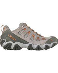 Obōz Sawtooth Ii Hiking Shoe - Gray