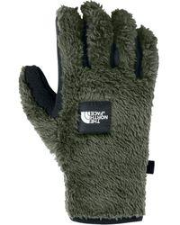 The North Face Furry Fleece Etip Glove - Green