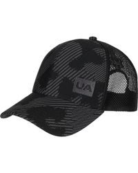 7542ce8b497 Lyst - Under Armour Blitzing Ii Stretch Fit Cap in Black for Men