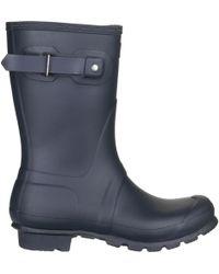 HUNTER - Original Short Rain Boot - Lyst