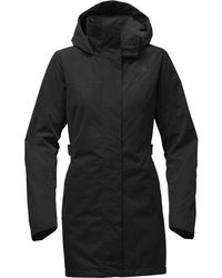 The North Face Laney Trench Coat Ii - Black