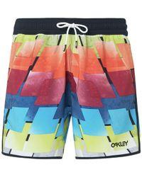 Oakley Beach Summer Hits 16in Board Short - Multicolor