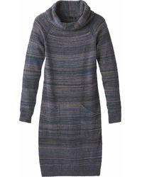 Prana Bisque Dress - Blue