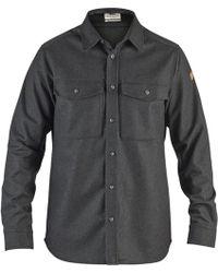 Fjallraven - Ovik Re-wool Long-sleeve Shirt - Lyst