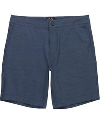 Faherty Brand All Day Short - Blue