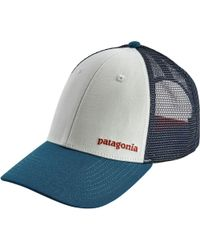 dd786b1a2c4 Lyst - Patagonia Eat Local Upstream Lopro Trucker Hat in Gray for Men