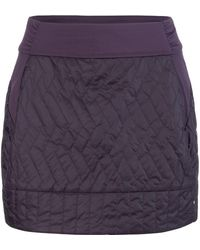 Mountain Hardwear Trekkin Insulated Mini Skirt - Purple