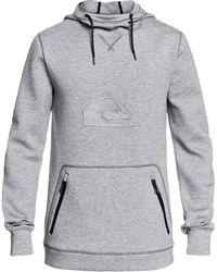 Quiksilver Freedom Pullover Hoodie - Gray