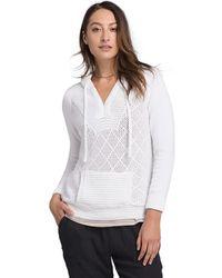 Prana Sugar Beach Sweater - White