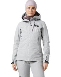 Helly Hansen Odin Mountain Infinity 3l Shell Jacket - Gray