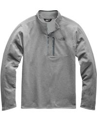 a5e05f24f The North Face Canyonlands 1/2 Zip (turkish Sea Heather) Men's Long ...