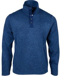 Mountain Khakis Norris Classic Fit Pullover - Blue