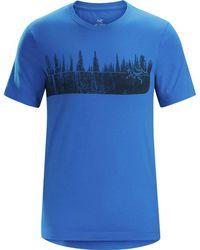 Arc'teryx - Glades T-shirt - Lyst